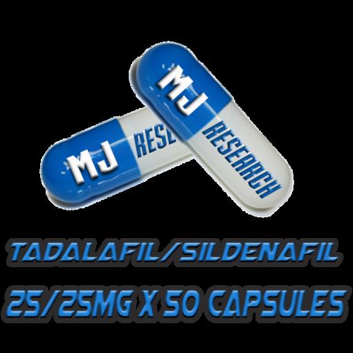 Tadalafil/Sildenafil Caps